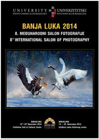 Plakat - 8. Medjunarodni Salon fotografije BANJALUKA 2014_resize
